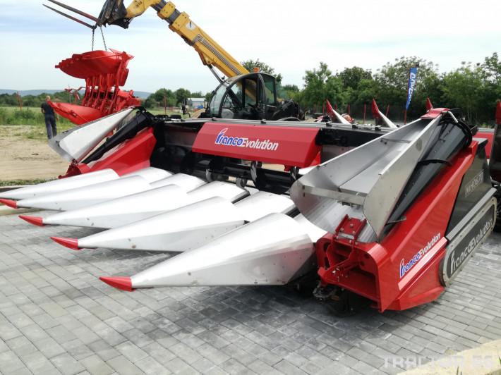 Хедери за жътва Franco Fabril ППЦ със сечка MH 0670 0 - Трактор БГ