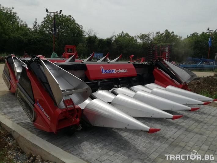 Хедери за жътва Franco Fabril ППЦ със сечка MH 0670 1 - Трактор БГ