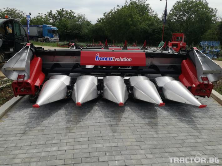 Хедери за жътва Franco Fabril ППЦ със сечка MH 0670 2 - Трактор БГ