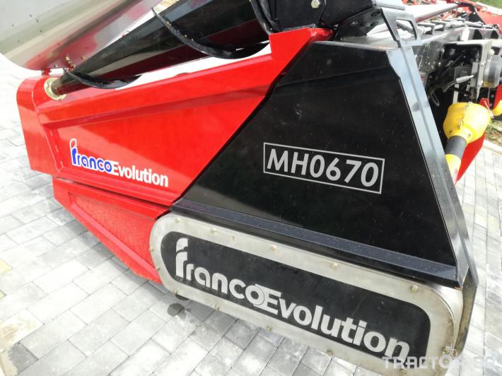 Хедери за жътва Franco Fabril ППЦ със сечка MH 0670 4 - Трактор БГ