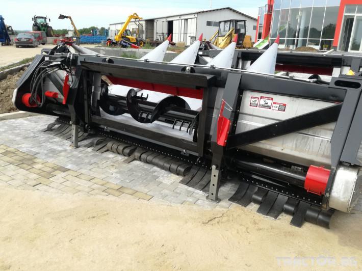 Хедери за жътва Franco Fabril ППЦ със сечка MH 0670 7 - Трактор БГ