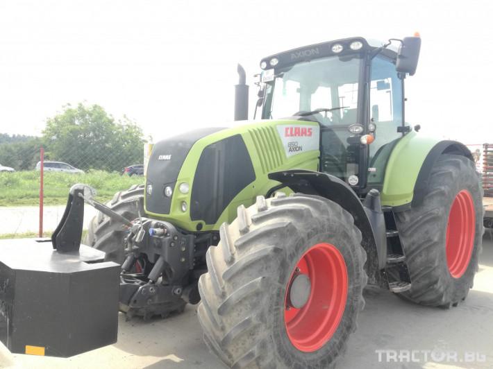 Трактори Claas Axion 850 10 - Трактор БГ