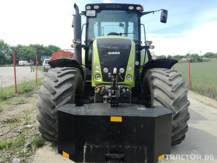 Трактори Claas Axion 850 14 - Трактор БГ