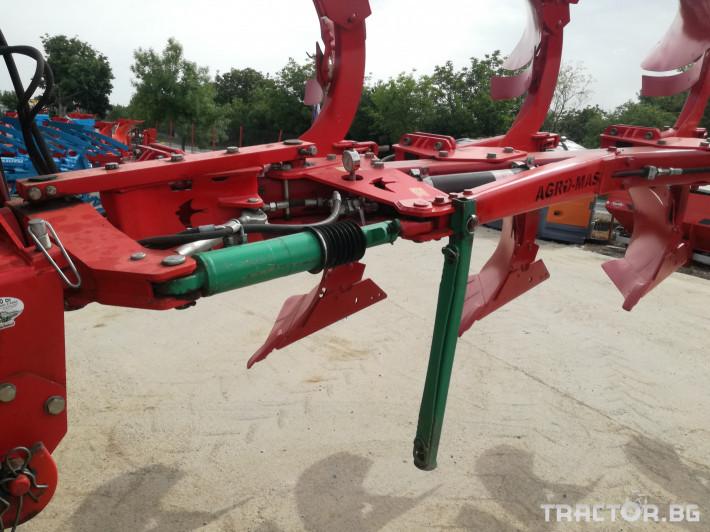 Плугове Agro Masz PO5 (4+1) Демо 3 - Трактор БГ