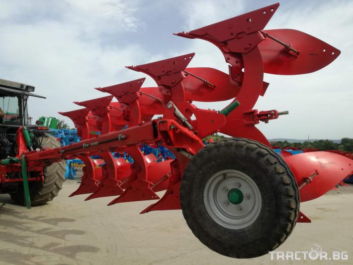 Плугове Agro Masz PO5 (4+1) Демо 4 - Трактор БГ
