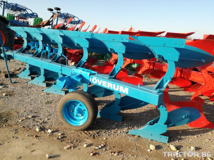 Плугове Overum 6F 0 - Трактор БГ