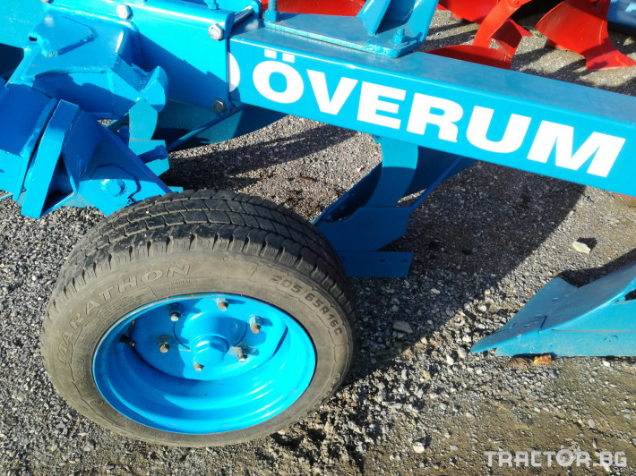 Плугове Overum 6F 4 - Трактор БГ