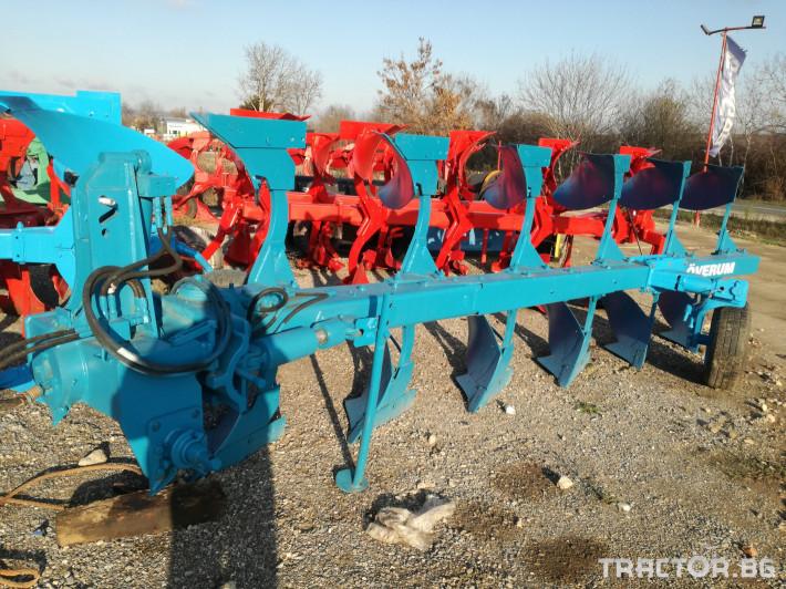 Плугове Overum 6F 7 - Трактор БГ