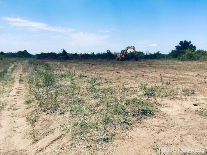 Мулчери Почистване на изоставени земеделски земи 1 - Трактор БГ