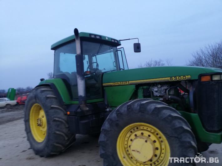 Трактори John-Deere 8300 10 - Трактор БГ