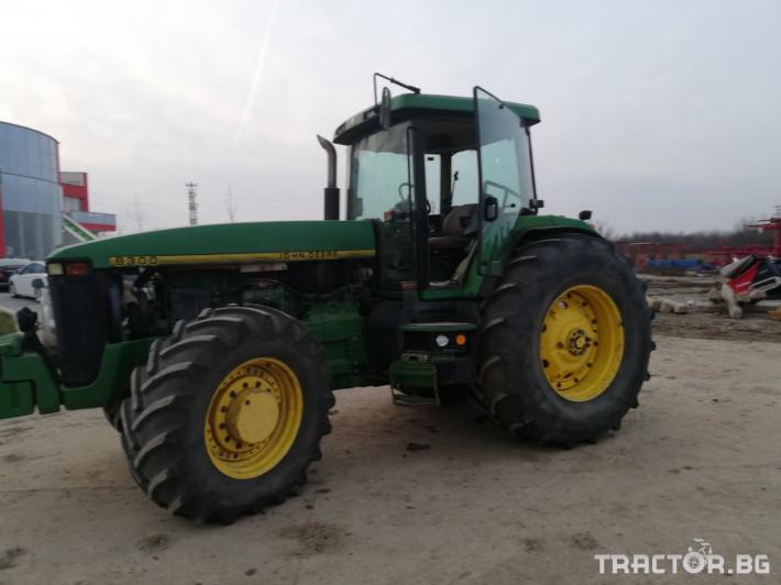Трактори John-Deere 8300 11 - Трактор БГ