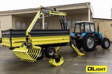 DL AgroMaster - Тракторно полуремарке с хидравличен манипулатор