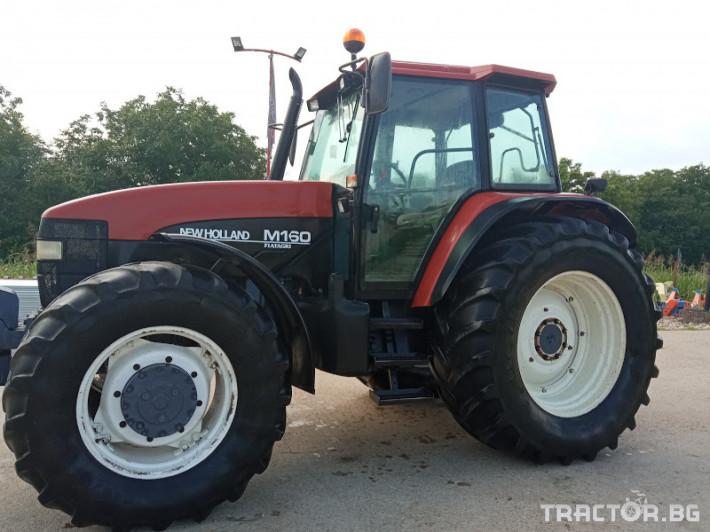 Трактори New-Holland M160 6 - Трактор БГ